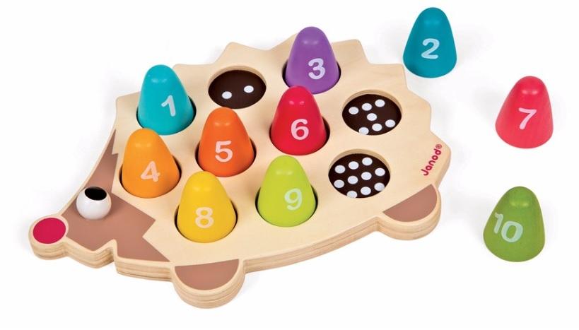 Drevená hračka - ježko